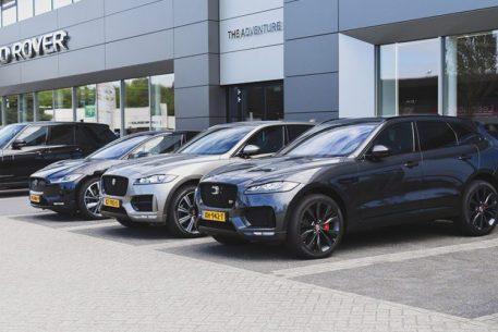 The adventure Jaguar Land Rover referentie