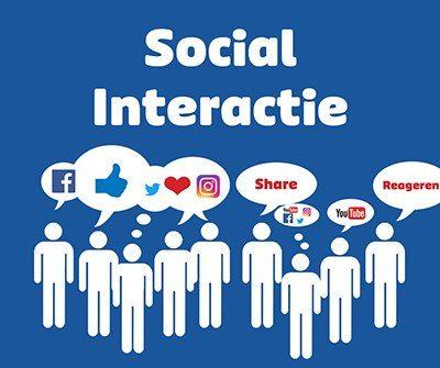 Interactie Facebook