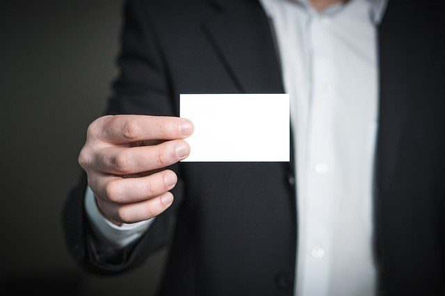 visitekaartje elevator pitch