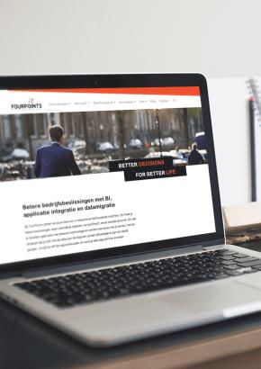 Design Fourpoints website